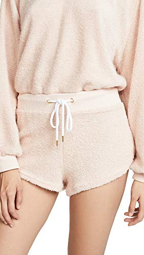 Honeydew Intimates Women's Sweet Retreat Terry Shorts, Vintage, Pink, Off White, Small
