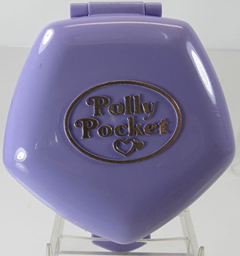 POLLY POCKET - Polly at the Burger Stand (Classic Collection) Set - 1992
