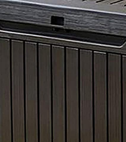 53.5x123x57 cm Marr/ón Keter Springwood Arc/ón exterior