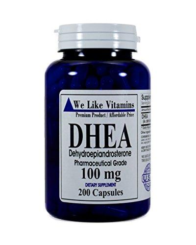 DHEA 100mg 200 capsules Capsules product image