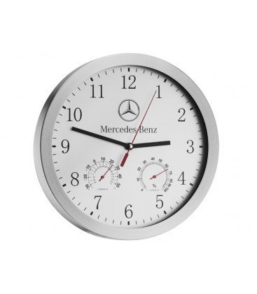 Genuine mercedes benz wall clock b67870520 buy online in for Mercedes benz clock
