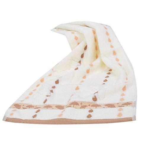 Iuhan  Towel, 1PC Super Absorbent Soft Washcloth The Bath Pure Cotton Siege Back Word Bath Towel 13