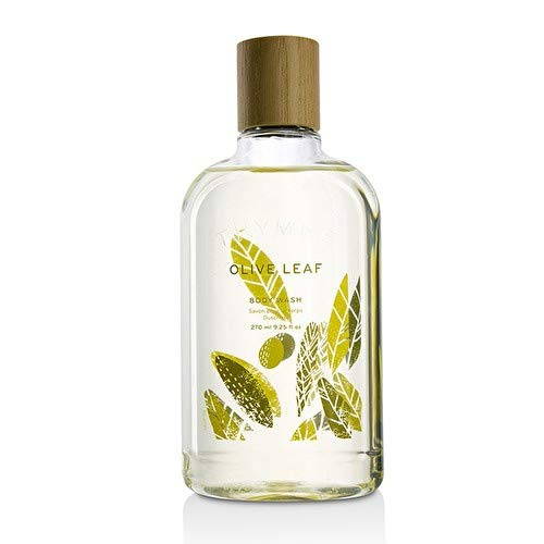 Thymes - Olive Leaf Body Wash - Hydrating Shower Gel with Natural Olive Oil - 9.25 ()