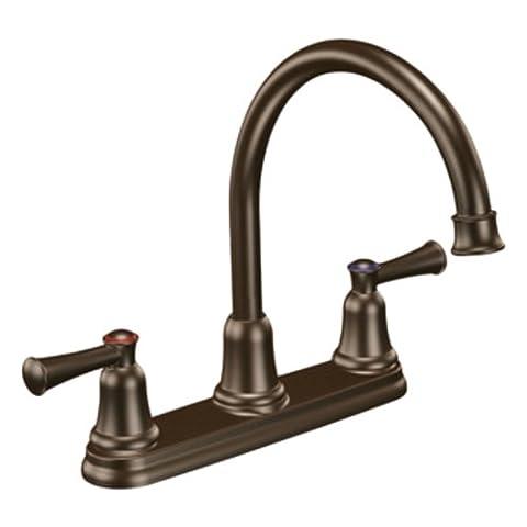 Moen CFG 41611OWB Capstone Two Handle High Arc Kitchen Faucet - Old World Bronze (Moen Cfg)