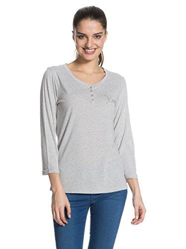 Roxy Henley - Camisa / Camiseta para mujer gris