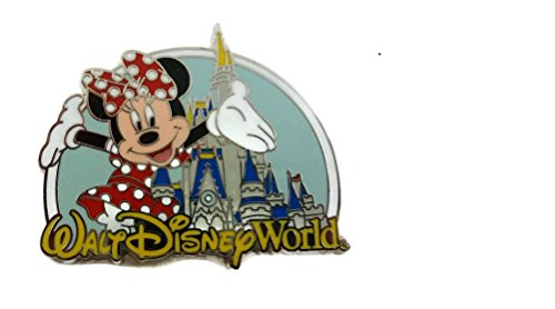 Disney World Where Dreams Come True Minnie Mouse Cinderella Castle Pin (Disney Dream Pin)