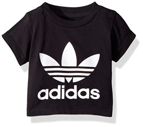 - adidas Originals Baby Originals Trefoil Tee, Black/White/Infant, 2T