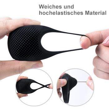 Penisringe für sie für ihn,zemalia sexspielzeug cockring,Perfekt für Paare,wiederaufladbare ringe aus silikon,1 pcs