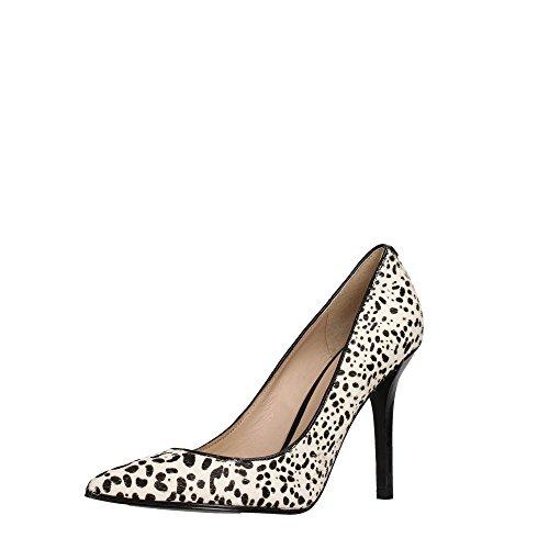 FL4CRYFUR08 Salón Leopard Guess Mujer de Zapato 76pwUS