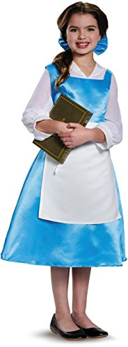 Belle Halloween Costumes Adults (Belle Blue Dress Adult Costume, Womens, Medium 8-10)