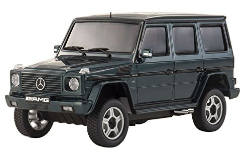 Kyosho Autoscale Mini-Z Overland Mercedes-Benz G55 AMG SUV Replacement Body - Dark Green Vehicle - Kyosho Replacement Parts