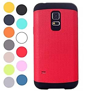 JJE The Armor protection sleeve case for Samsung Galaxy S5 Mini (Assorted Colors) , Black