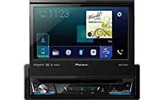 """7"""" Flip Out DVD Receiver with CarPlay, Android Auto and Bluetooth. Resolution: WVGA (800 x 480)"""