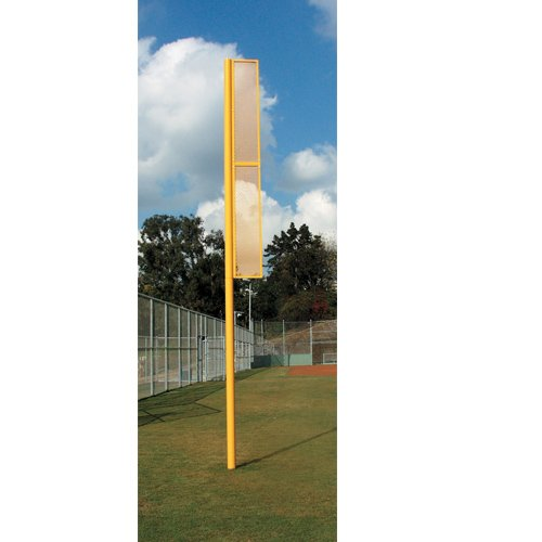 Baseball Foul Pole (Sport Supply Group BSFOUL12 Ssg Pair of Professional 12 Foul Pole - Baseball)
