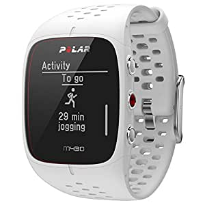 Polar M430 Running Watch GPS, Unisex-Adult, White, S/M