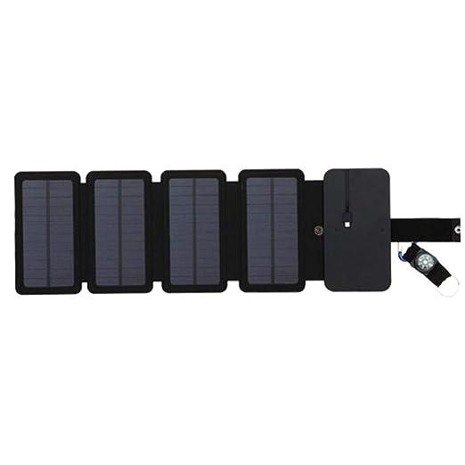 Festnight Panel Solar Desmontable Plegable de Poder móvil ...
