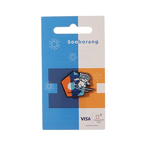 Pyeongchang 2018 Winter Olympic Official Licensed Collectible Pin Badge (Alpine Skiing)