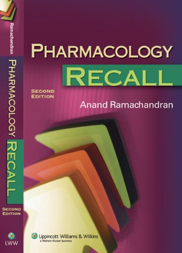 Pharmacology Recall (Recall Series)