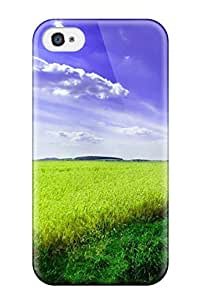 First-class Case Cover For Iphone 4/4s Dual Protection Cover Field Earth Nature Other