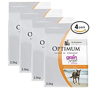 OPTIMUM Vegetables & Rice Dry Dog Food Click on image for further info.