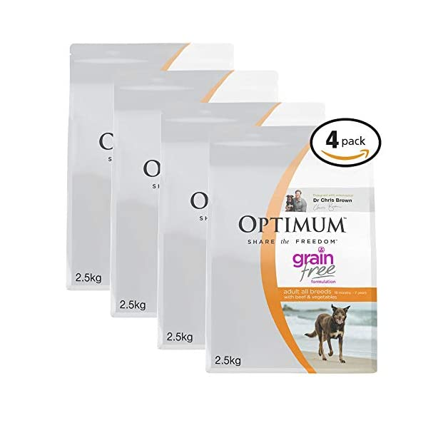 OPTIMUM Vegetables & Rice Dry Dog Food 1