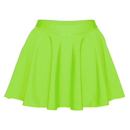 Vert circulaire en Starlite Lycra Jupe Nylon pour Green Flo femme 0OwqHxn