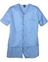 Big and Tall Short Sleeve Short Leg Pajama Set