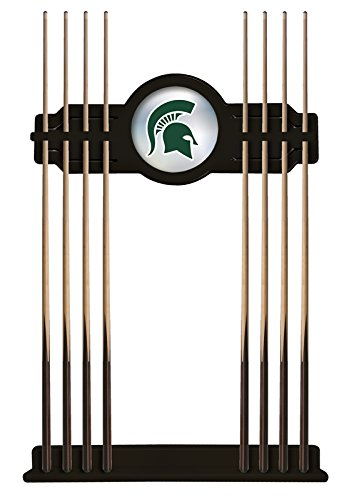 Holland Bar Stool Co. Michigan State Cue Rack in Black Finish