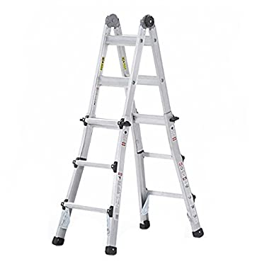Cosco 20413T1ASE Multi-Position Ladder System, 13'