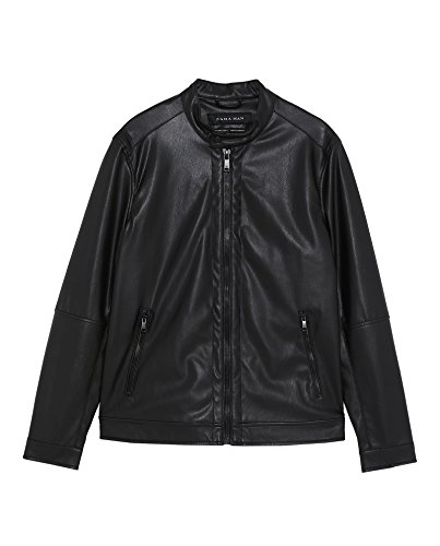 Used, Zara Women Leather Effect Jacket 4341/451 (Medium) for sale  Delivered anywhere in USA
