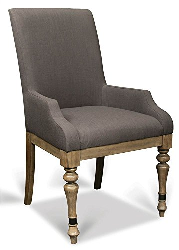 Riverside Dining Furniture - Upholstered Wooden Arm Chair - Set of 2