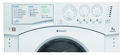 Hotpoint BHWM1292 Washing Machine Integrated 7kilogram 1200RPM