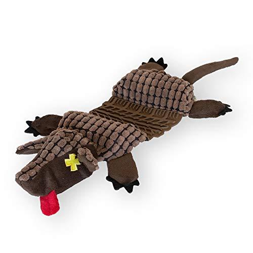 - Outward Hound Invincibles Roadkillz Armadillo Dog Squeaky Toy