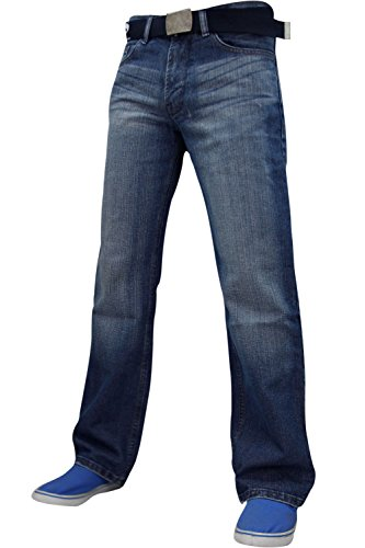 FB JEANS - Jeans -  Homme -  - Dark Washed - FBM14 - XS