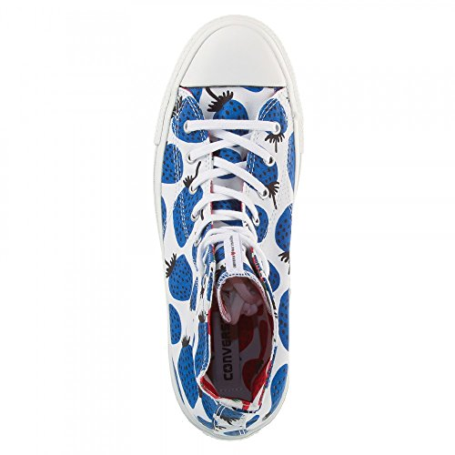 Alte Canvas White Sneaker Ct blue Marimekko Converse S Hi Premium Donna qH0p04wF