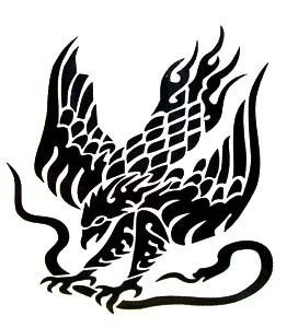 bt0013 falcon hawk eagle waterproof temporary tattoo easy to wash off tattoo