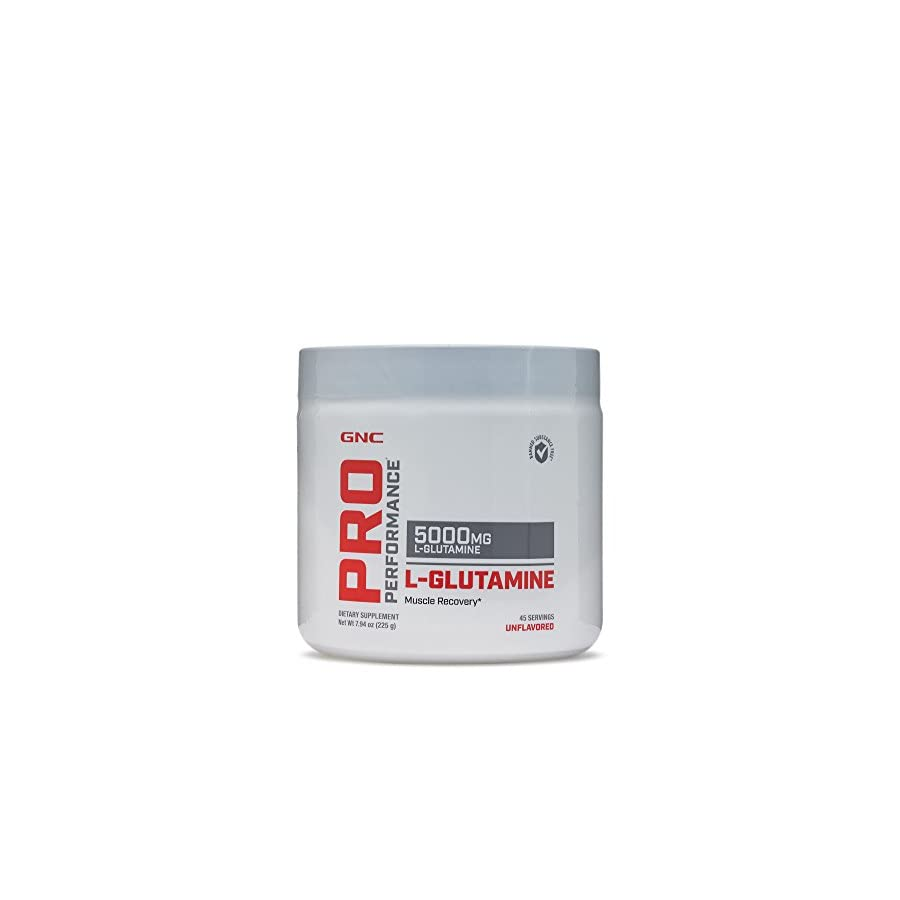 GNC Pro Performance L Glutamine 5000mg 225 g