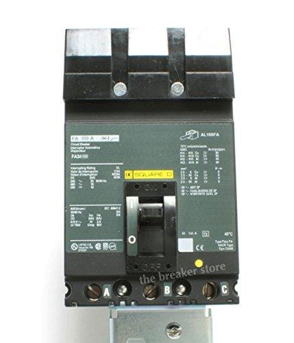Square D FA36100 100A, 600V, 3 Pole, I-Line Circuit Breaker by Square D