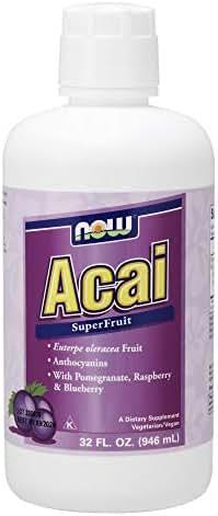Now Supplements, Acai Liquid, Super Fruit Concentrate, 32-Ounce