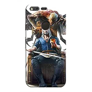 Cover It Up - Relax Witcher Pixel Hard Case