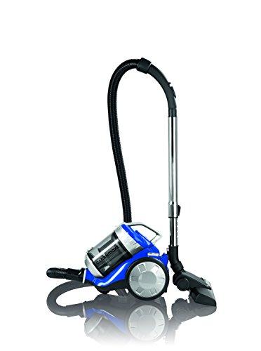 Cleanmaxx 09897 Zyklon-Staubsauger | 700 W | Beutellos | Haushaltsreinigung | Power 3000 | Bodenreinigung, Für Alle Böden, blau / silber