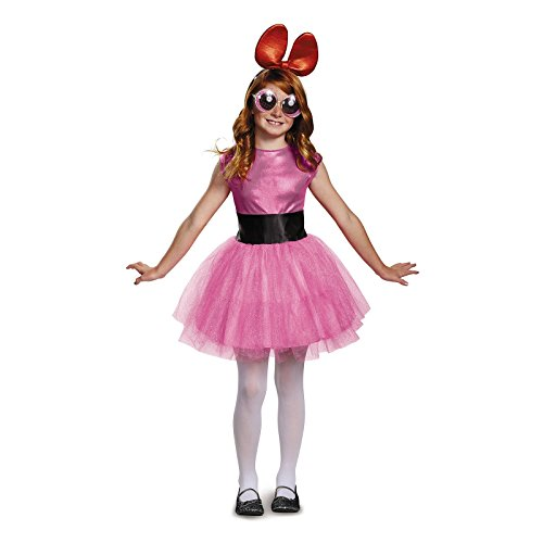 Blossom Tutu Deluxe Costume, Pink, Small (4-6X) - Blossom The Powerpuff Girl Costume
