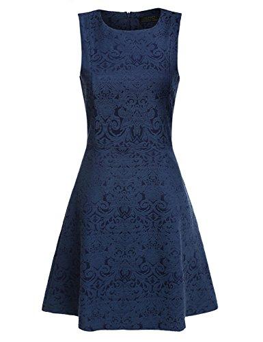 Dresses Evening Jacquard Dress - 7