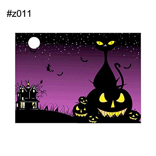 CHoppyWAVE Halloween Spooky Pumpkin Skull Witch Partial Diamond Painting DIY Cross Stitch - z011 -