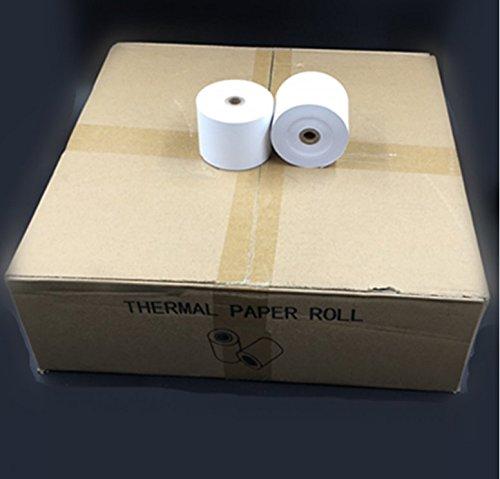 50 rolls 3-1/8' x 230' Thermal Receipt Paper Rolls Case Of 50 Pos Cash Register