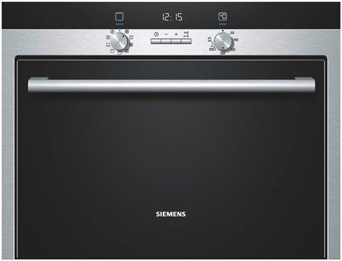 Siemens HB33CB550 - Horno (45L, Eléctrico, 45L, Integrado, Plata ...