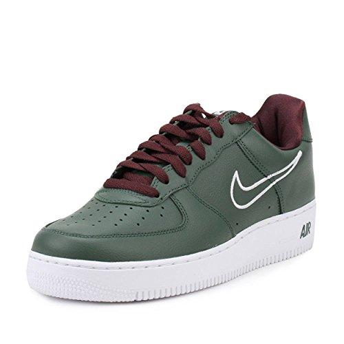 Nike Men's Air Force 1 Low Retro Deep Forest/White-El Dorado Hong Kong 845053-300 Shoe 10.5 M US Men ()
