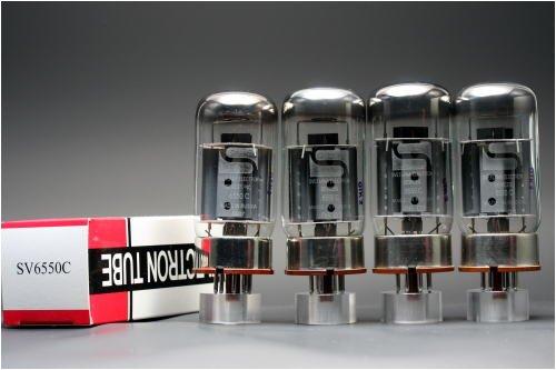 6550C Svetlana-Sロゴ 4本マッチ 低パワー 真空管PX21   B002U1SNOM