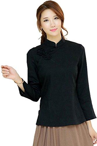 shanghai-story-chinese-oriental-long-sleeve-tang-qipao-top-blouse-4-black