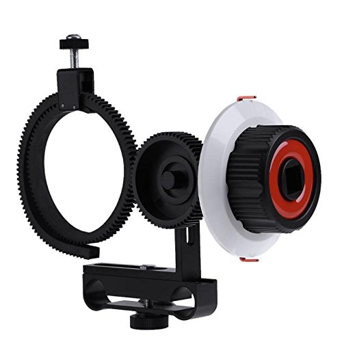 JIAIIO Follow Focus F0 with Adjustable Gear Ring Belt for Canon Nikon Sony DSLR Camera for Follow Focus Shooting by JIAIIO